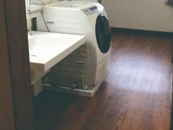 洗面台取替・玄関スロープ設置