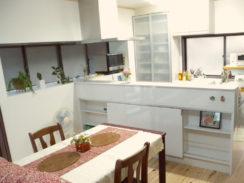 キッチン・リビング改装