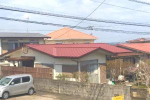 外壁塗装・屋根重ね葺工事